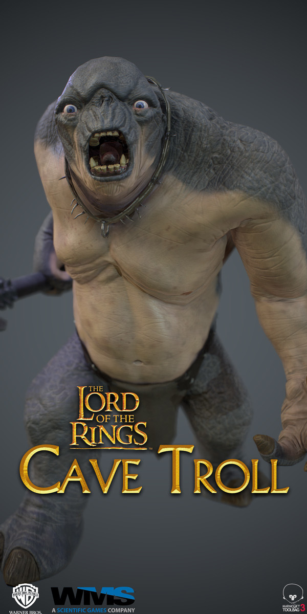 Lord Of The Rings Cave Troll