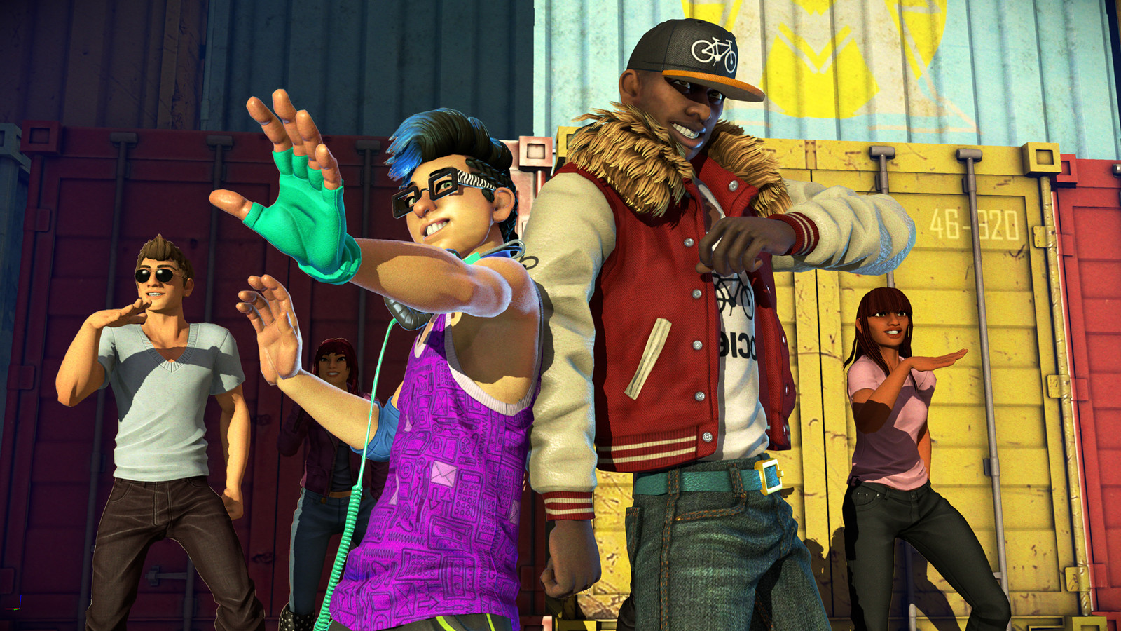 Dance Central Spotlight Character Art