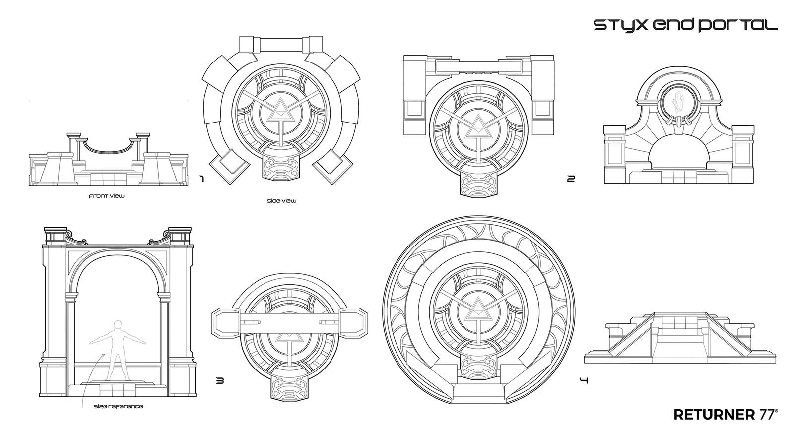 Returner 77 concept art