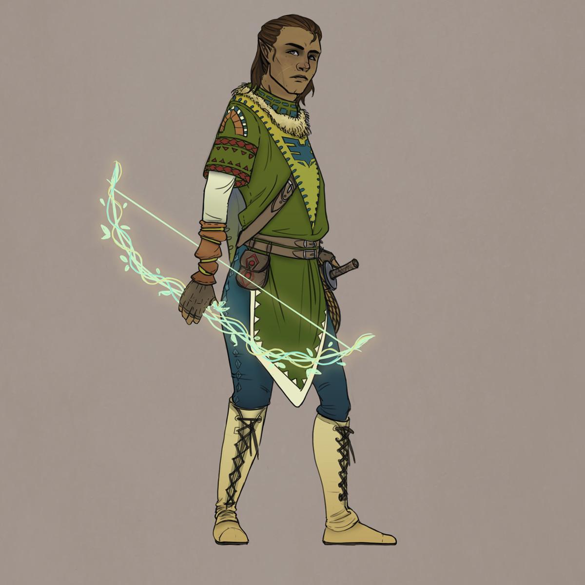 Epios armor design - archer initiate
