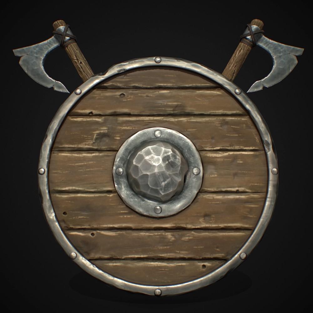 Stylized Viking Study