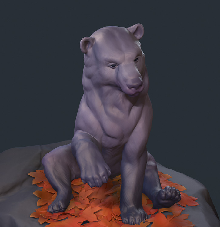Sketch - Autumn Bear