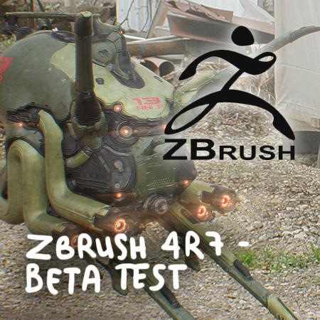 Zbrush 4R7 - Beta Testing