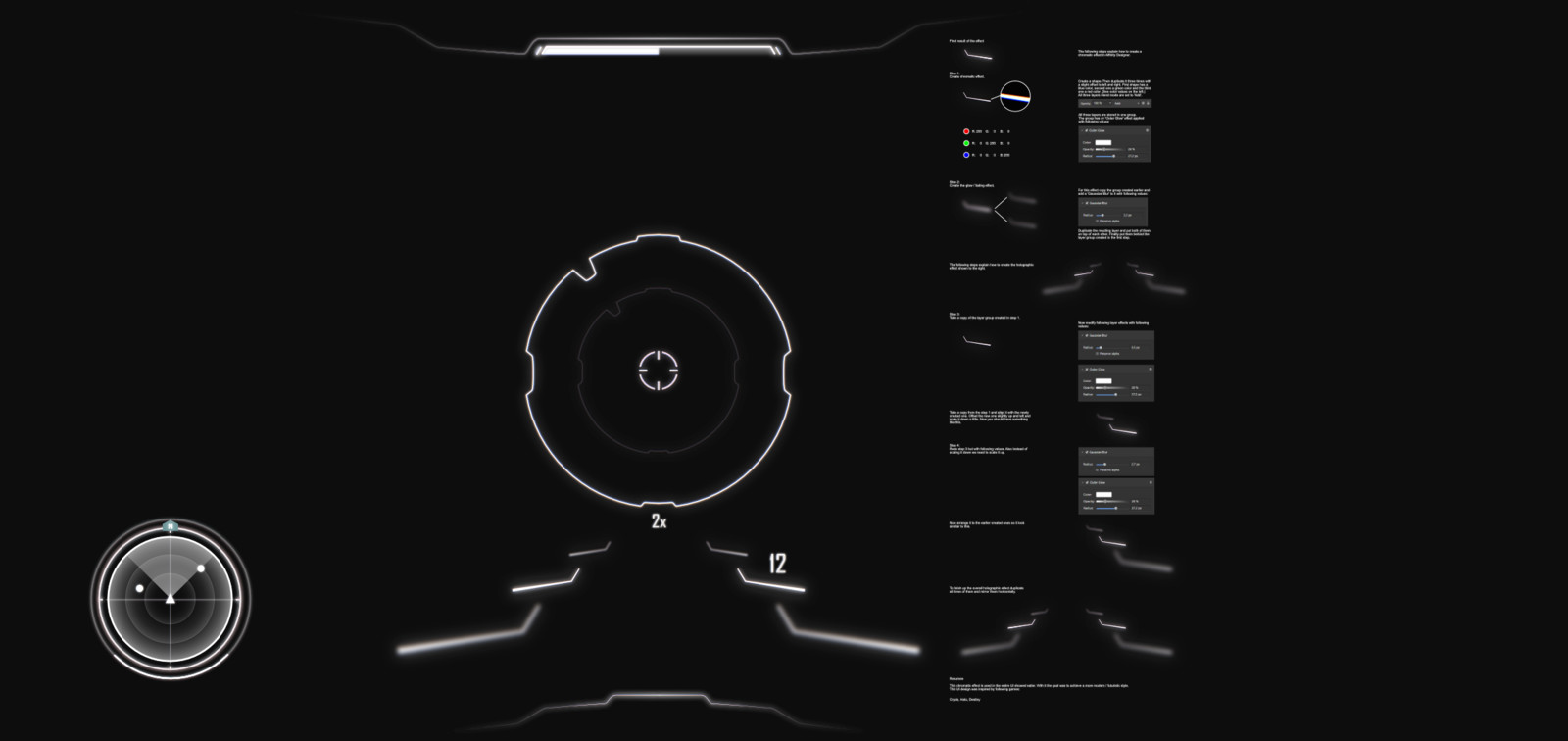 Chromatic Game User Interface