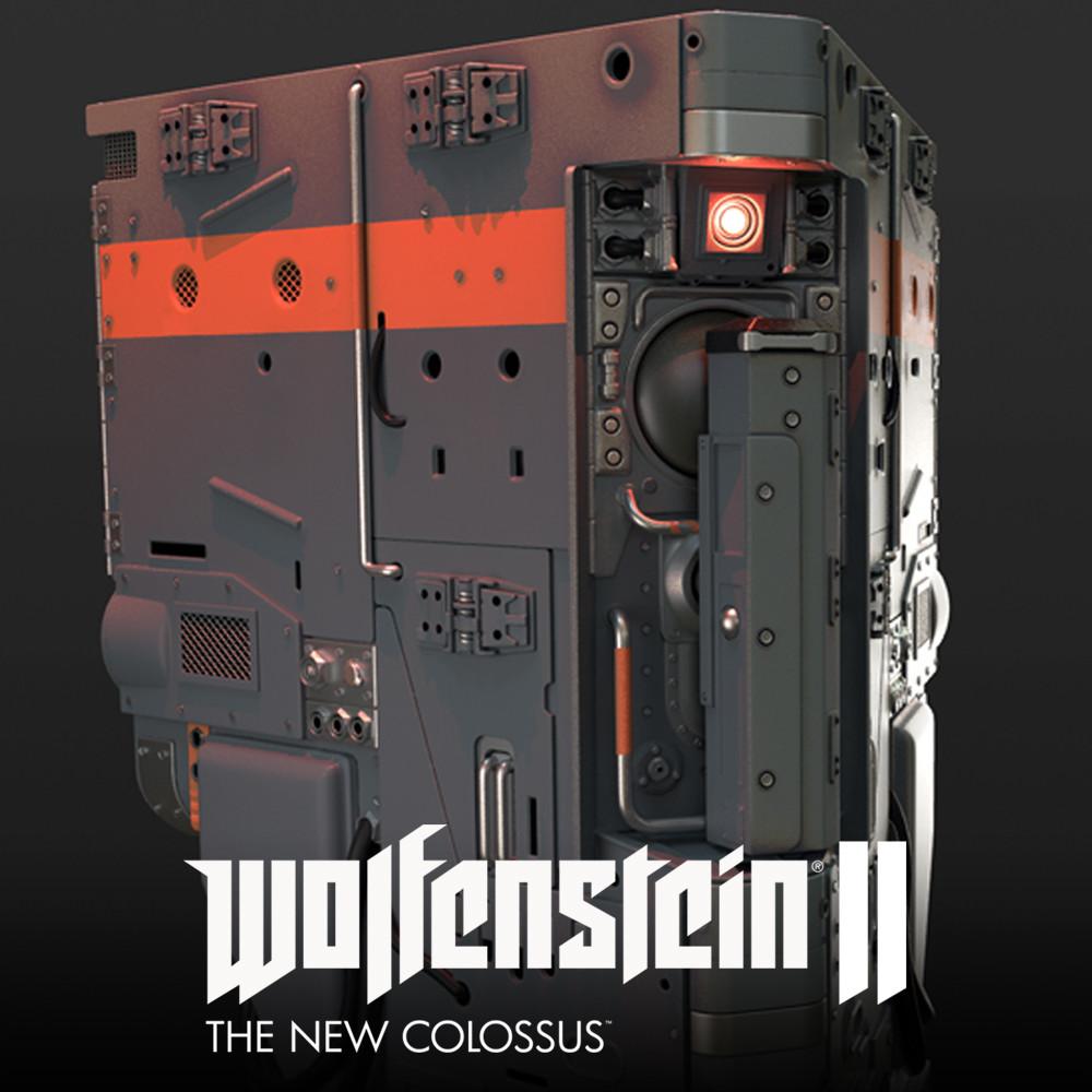 Wolfenstein 2: floor terminal