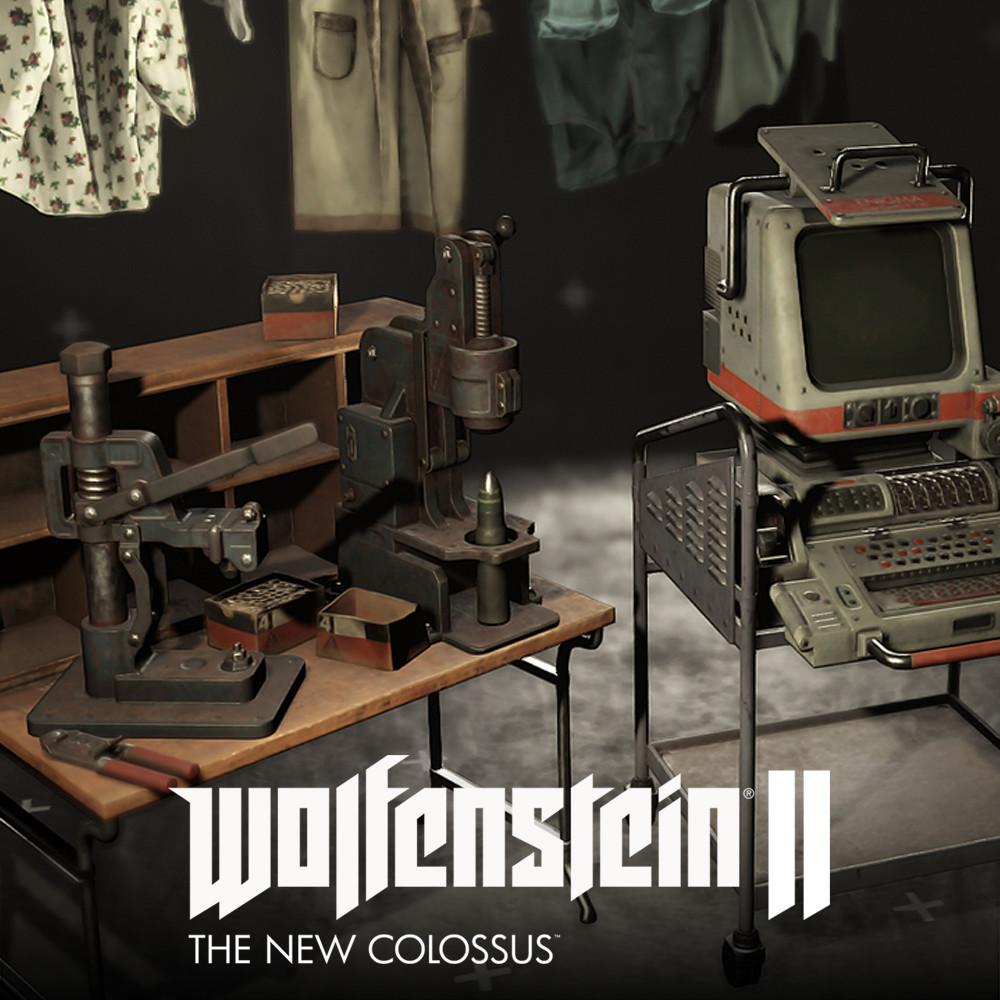 Wolfenstein 2 props