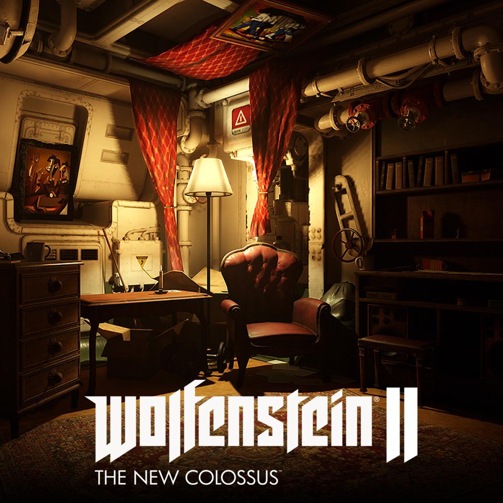 Wolfenstein 2: bombate room