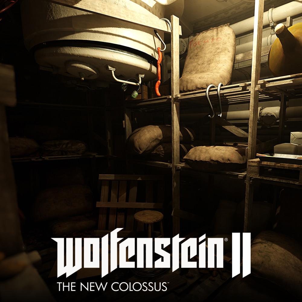 Wolfenstein 2: Les halles Lyon