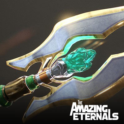 Trident, Bident and water ring - The Amazing Eternals