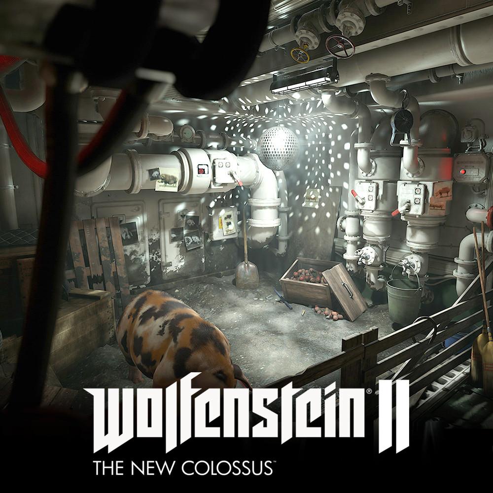 Wolfenstein 2: pigsty