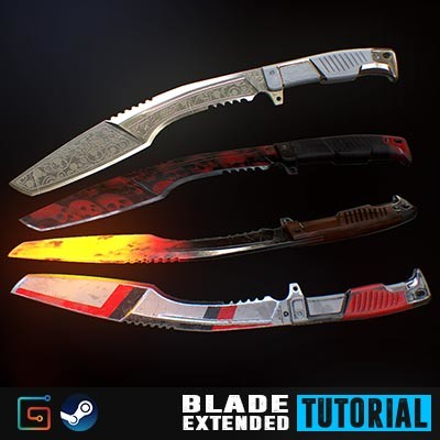 Blade Tutorial - Extended and free Edition content