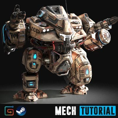 Mech Tutorial - 3Ds Max 2017 and Substance Painter