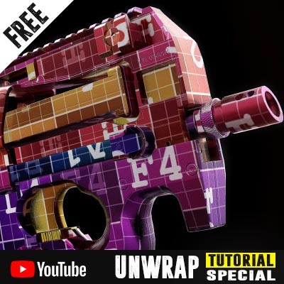 Unwrap Special - understanding the fundamentals of UV mapping - 3Ds Max 2017