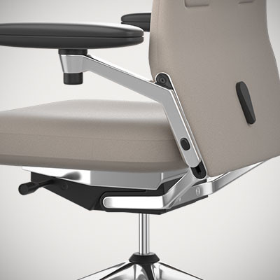 High poly office chair