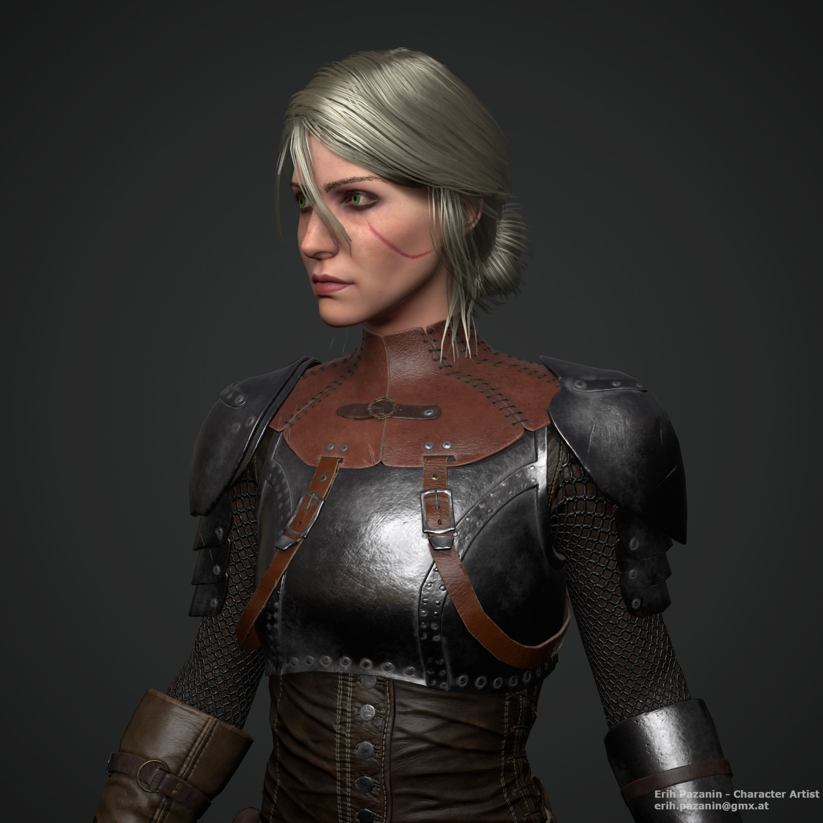 Ciri Re-Design (Fan Art)