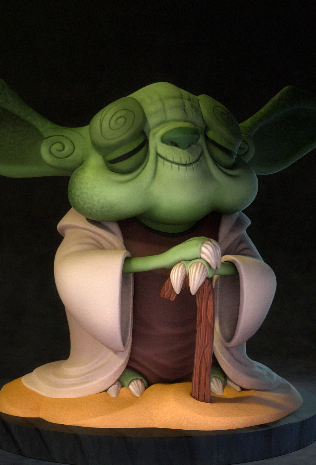 Yoda Toy Sculpt