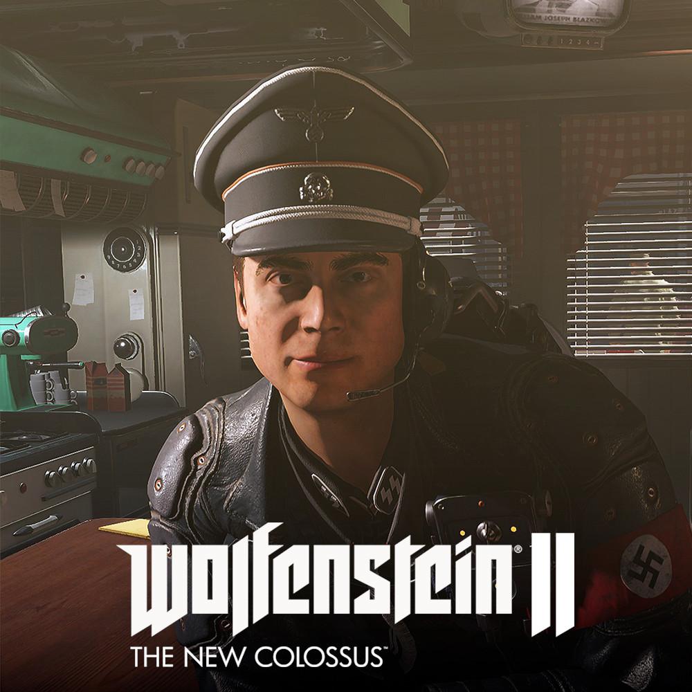 Wolfenstein II - Nazi Commander