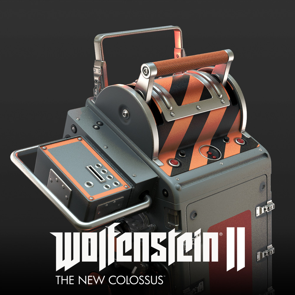 Wolfenstein 2: prop highpolys