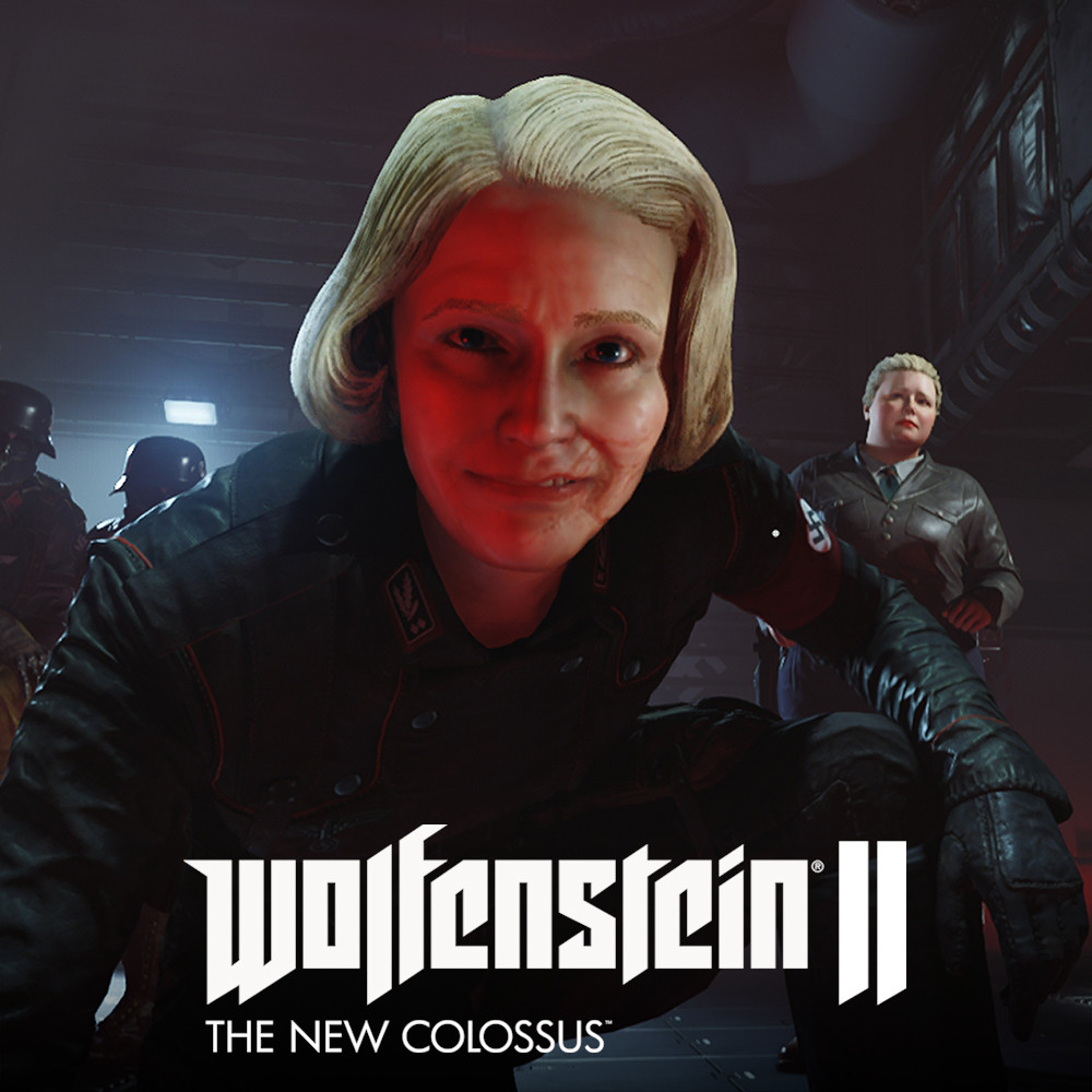 "Wolfenstein II - Obergruppenführer Irene ""Frau"" Engel"