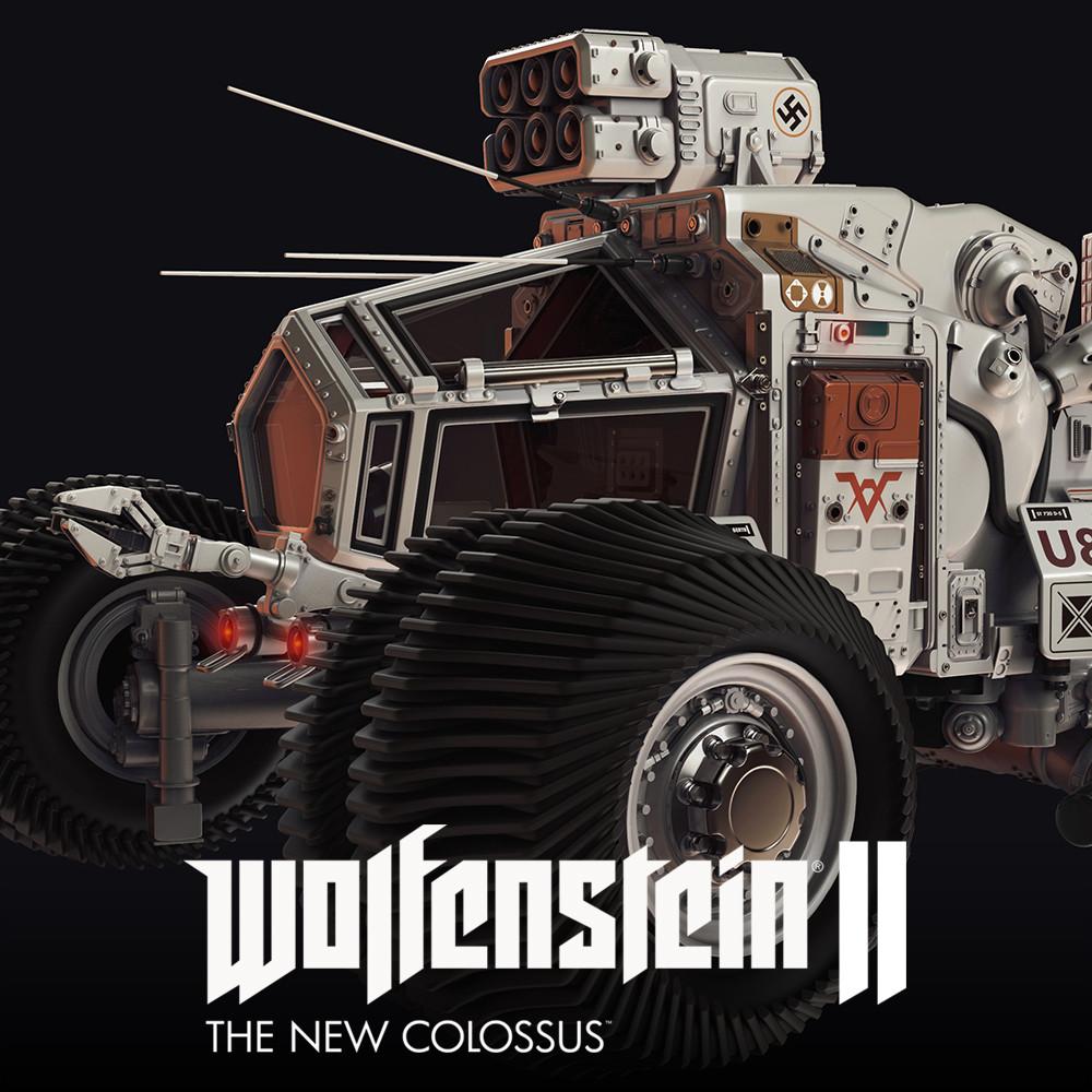 Wolfenstein II: Venus Buggy Highpoly