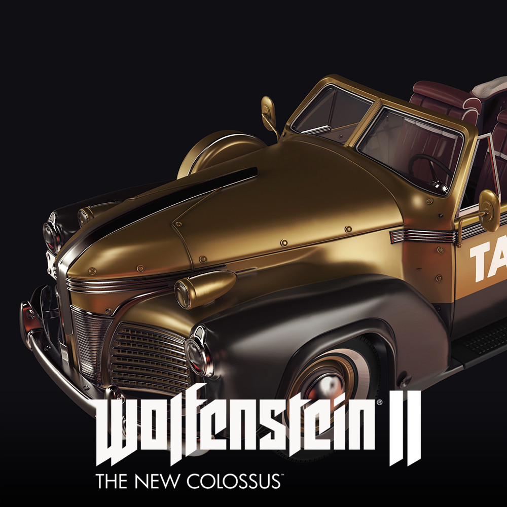 Wolfenstein 2 :Civilian Car 1940