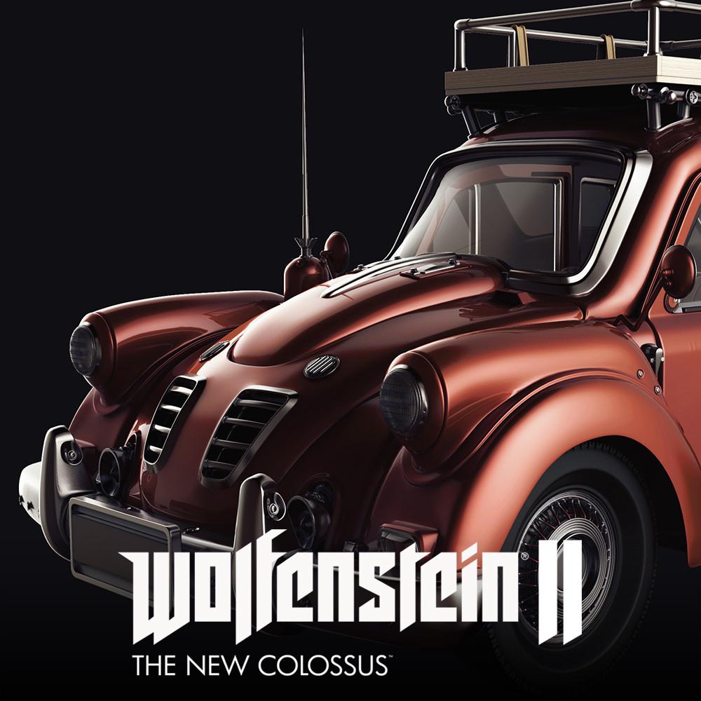 Matthias Develtere Wolfenstein 2 Civilian Car