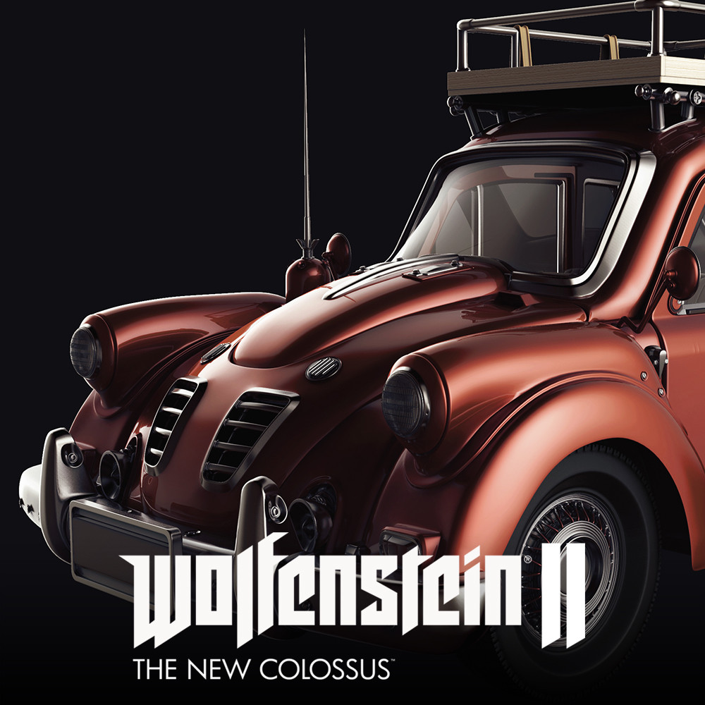 Wolfenstein 2 :Civilian Car