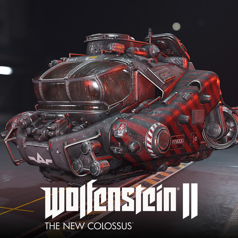 Wolfenstein  2: LowPoly SilverFish Exterior