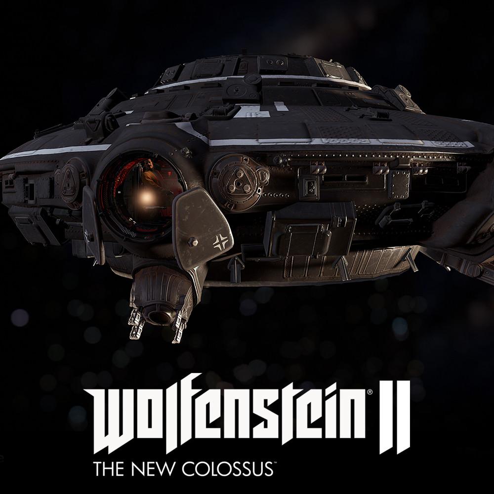 Wolfenstein II: :: Haunebu V3 exterior