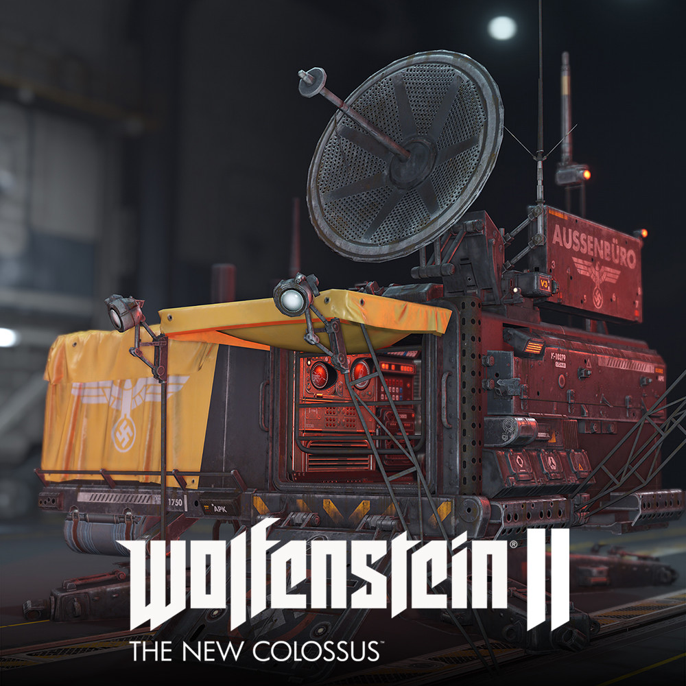 Wolfenstein 2: Field Office lowpoly