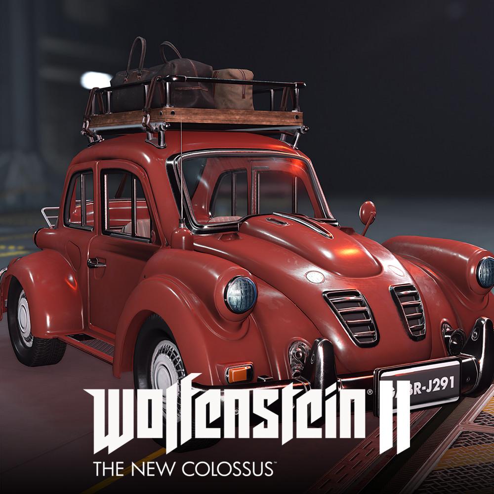 Wolfentein 2: Civilian Cars