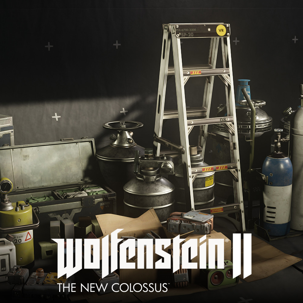 Wolfenstein 2 Prop Support : Submarine Part 1