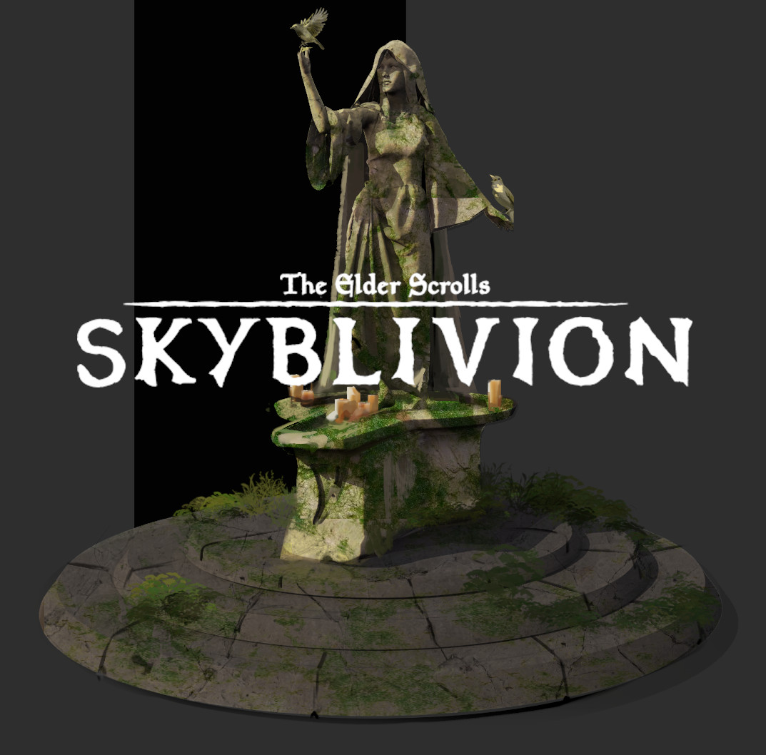 Skyblivion - Nocturnal shrine