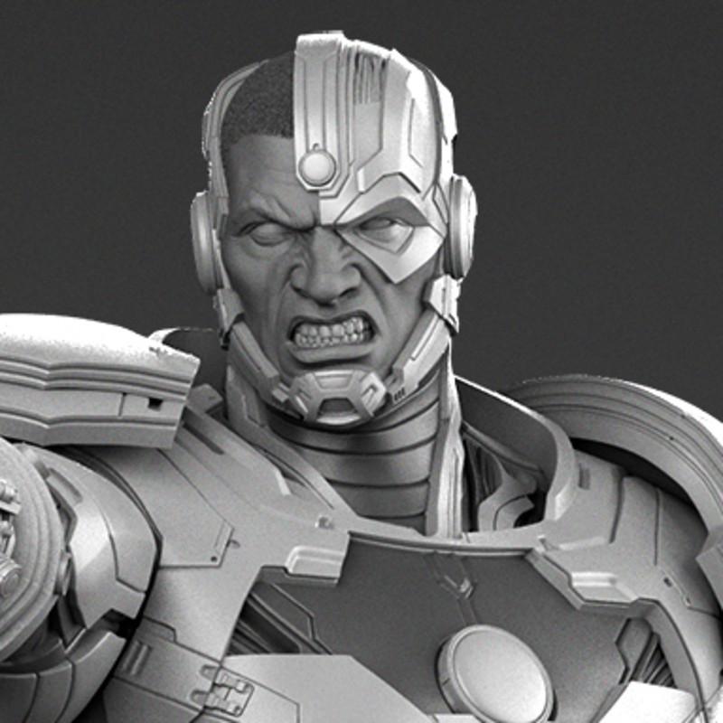 Cyborg (New 52) - Prime 1 Statue