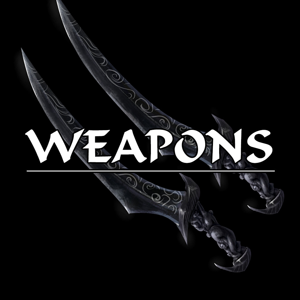 Skyblivion - Unique weapon concepts