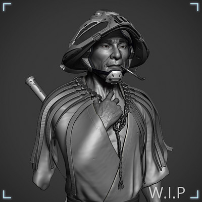 Scifi farmer - WIP