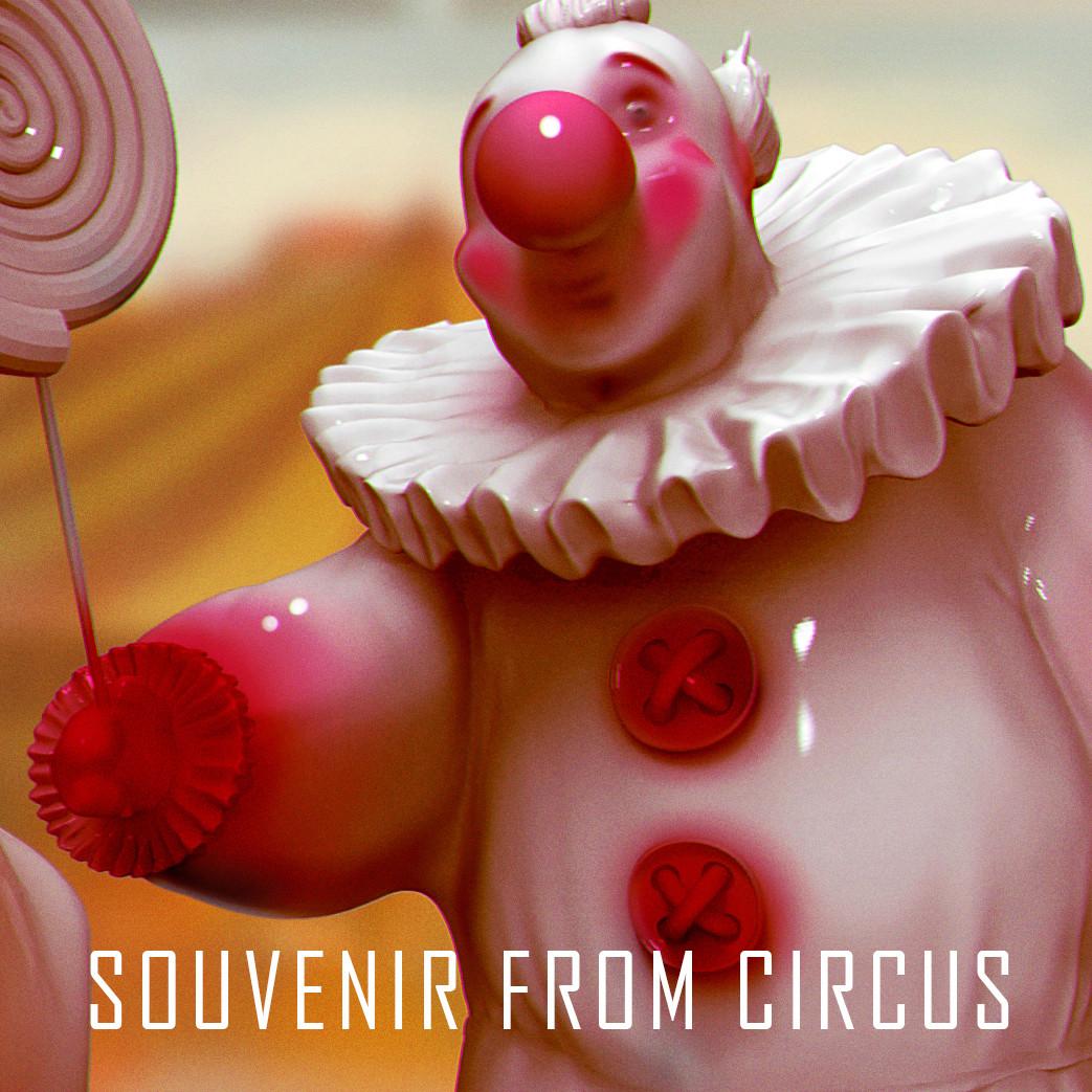 Souvenir from circus