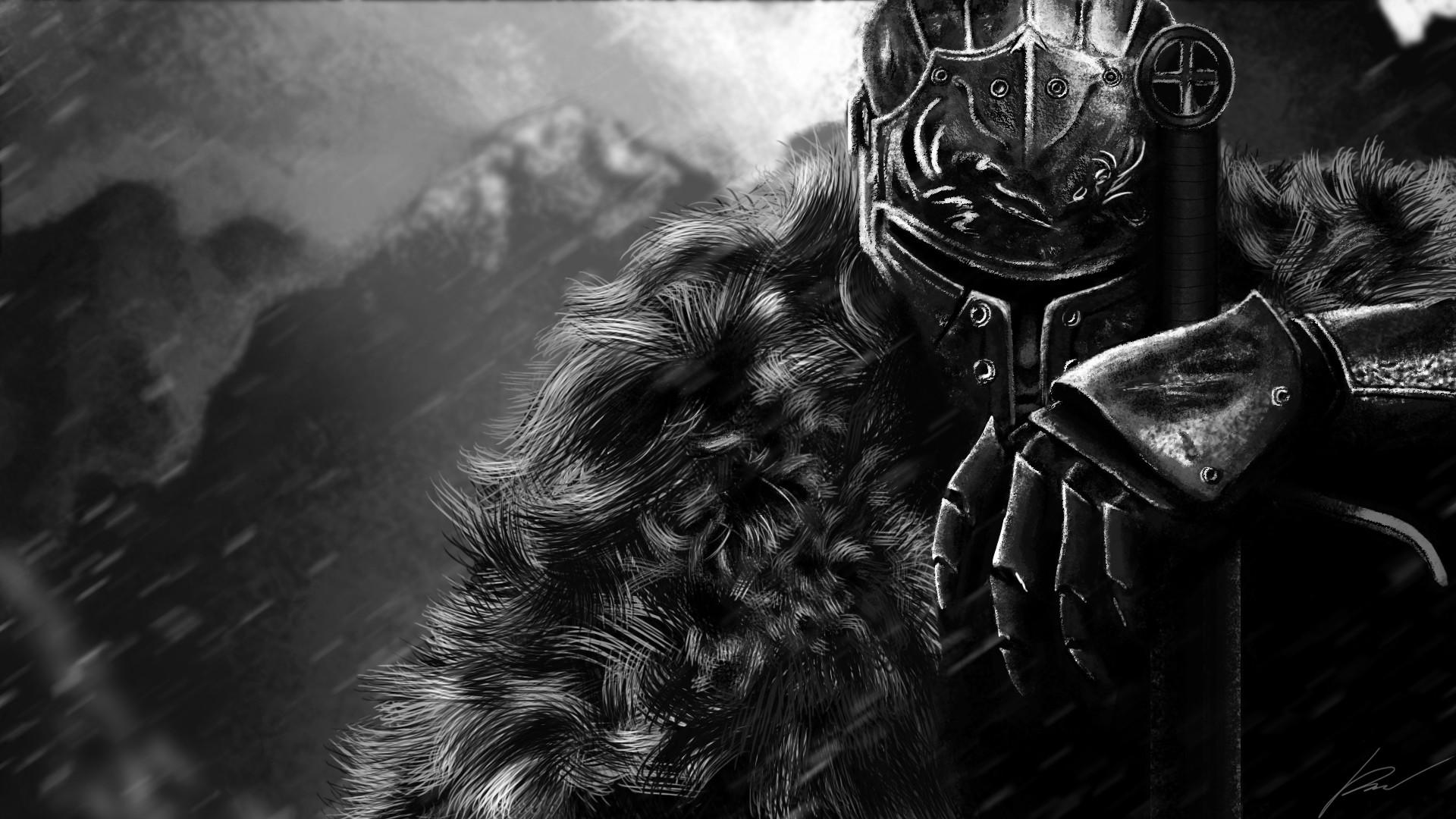 Artstation Dark Souls Ii Fanart Raul Gonzalez