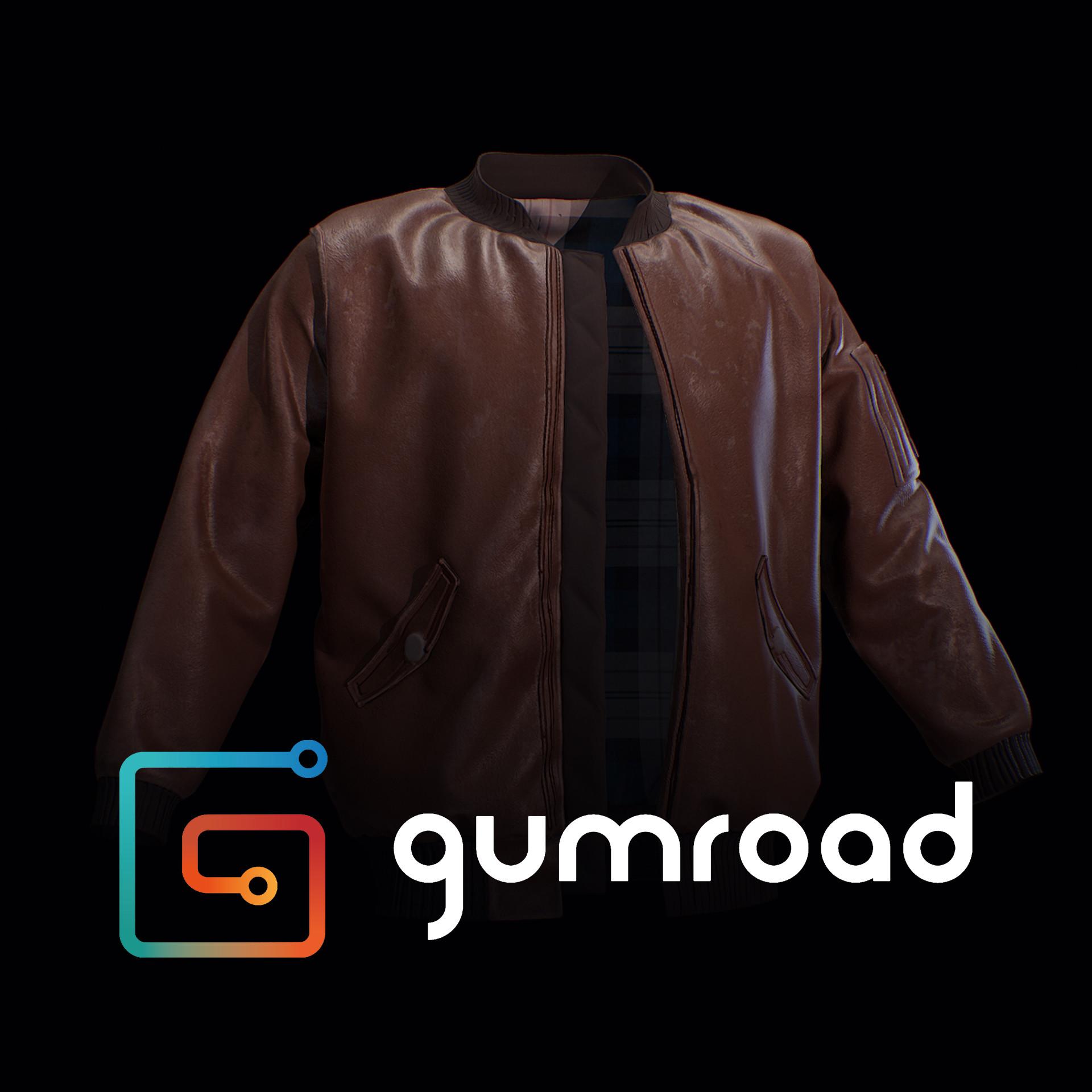 ArtStation - Bomber Jacket for Marvelous Designer , CG Loot