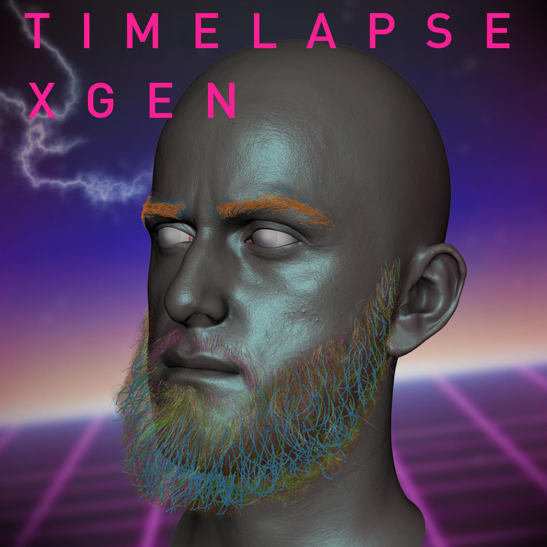 Beard Apocalypse: XGen timelapse VOL 1