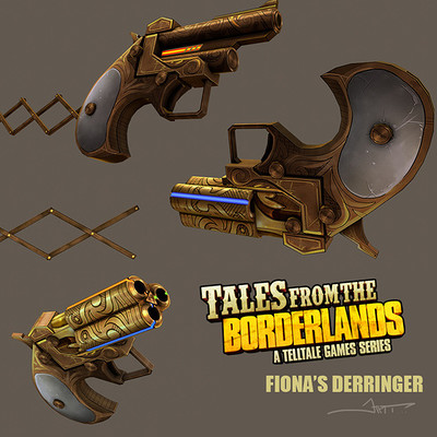 Josh tyler borderlands derringer