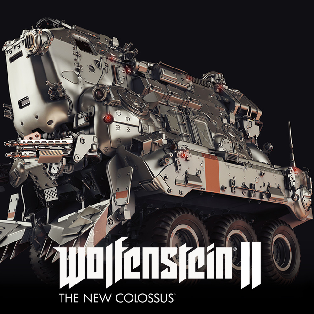 Wolfenstein 2: Trooptransport 64 Highpoly
