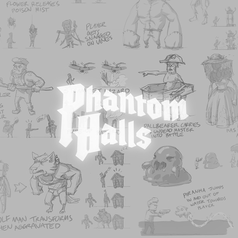 Phantom Halls Concept Dump