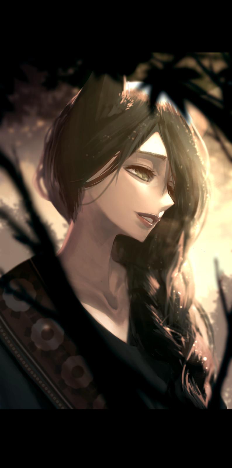 Character portrait practice : Kali Belladonna