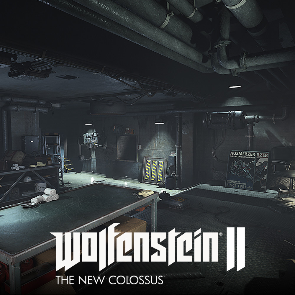 Wolfenstein 2: Basement