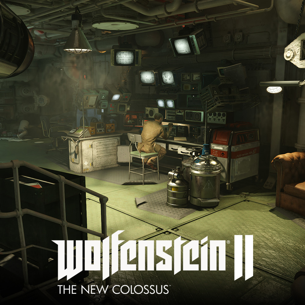 Wolfenstein2: Submarine Set Roth Workshop