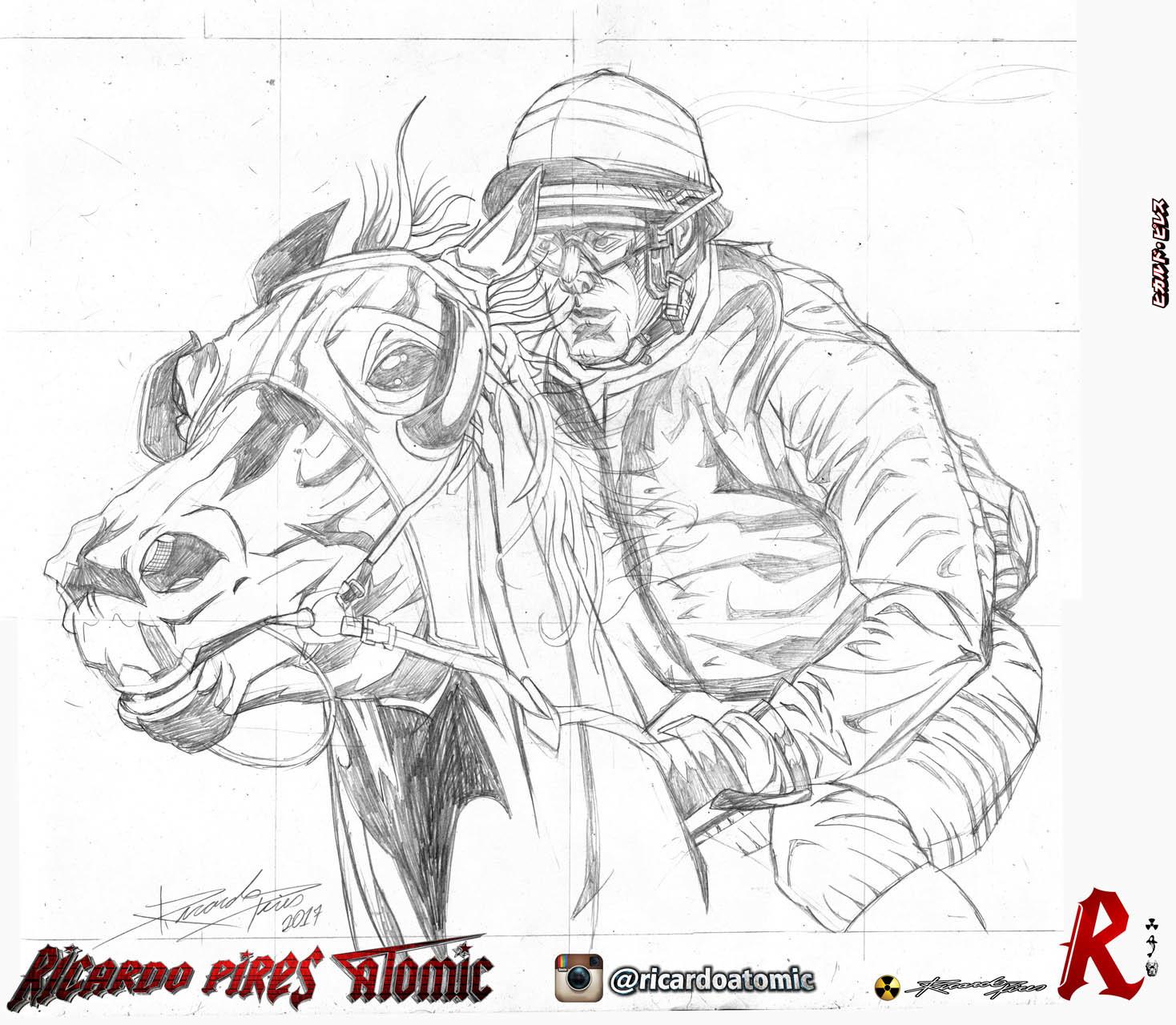 Artstation Horse Designs Ricardo Pires Atomic