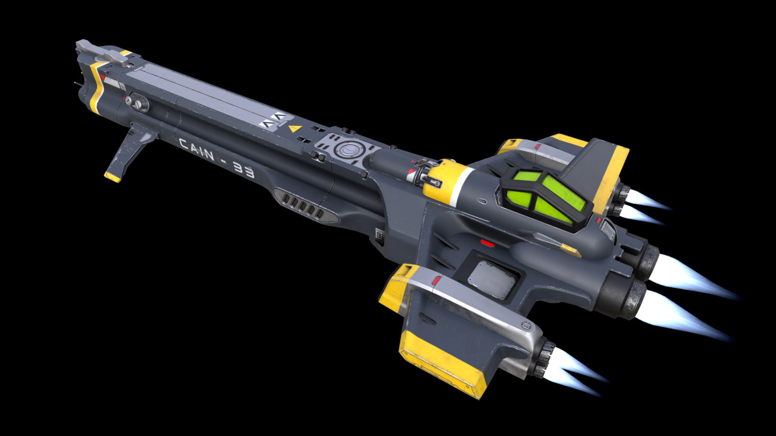 CAIN-33 Scout Ship