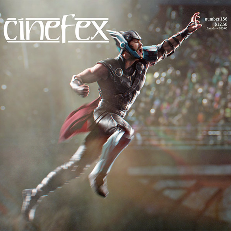 Cinefex Magazine - RoboMoco Advertisement