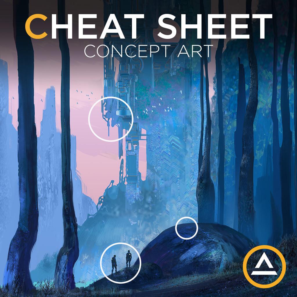 Concept Art Cheet Sheet